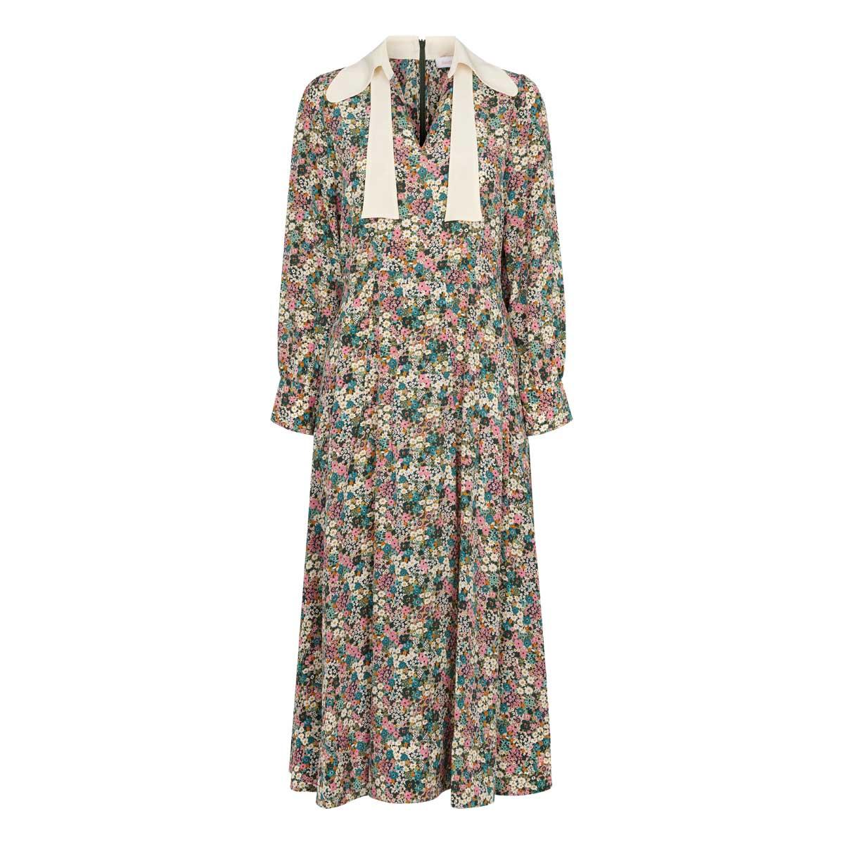 See By Chloe, Long Dress Multi Grøn