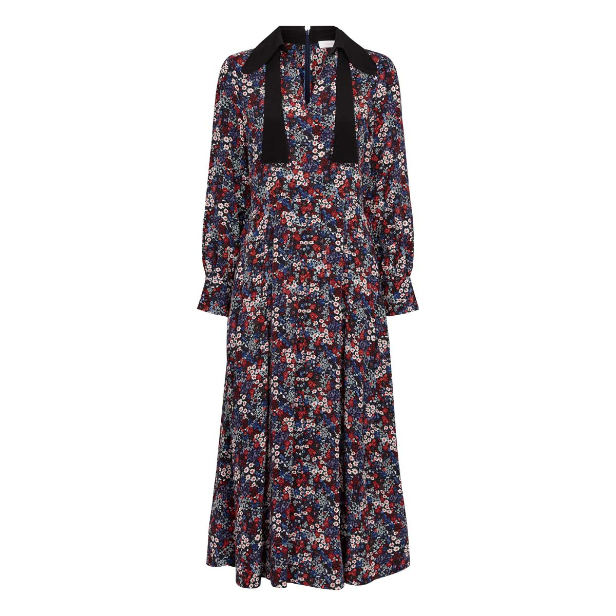 See By Chloe, Long Dress Multi Blå