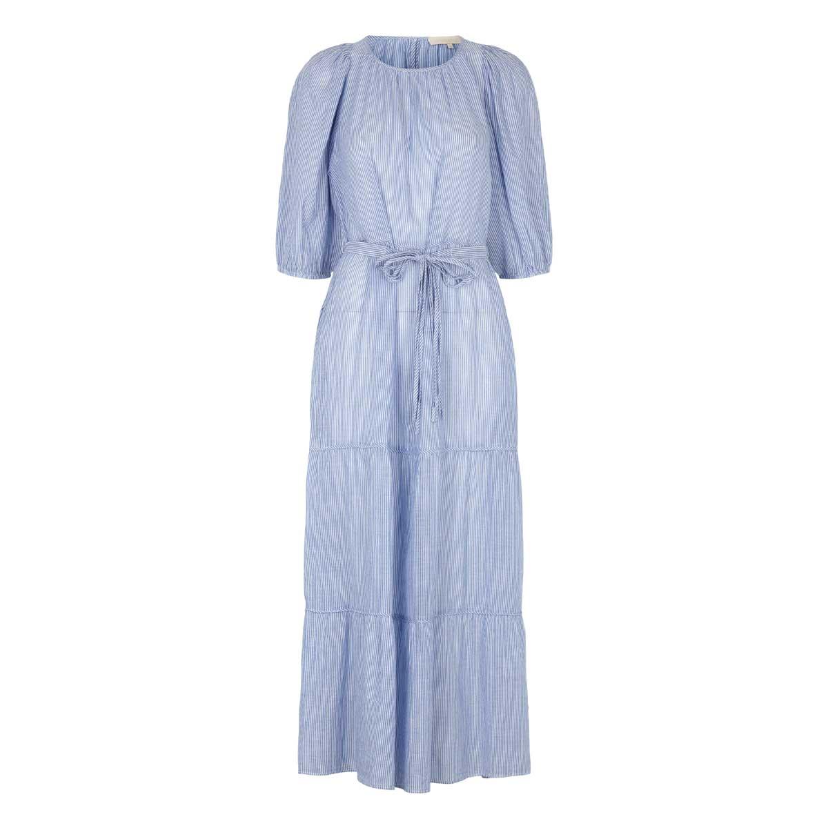 Vanessa Bruno, Lang kjole Blå/ Striber