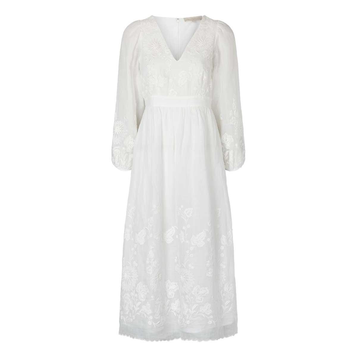 Vanessa Bruo, Romina Dress Hvid