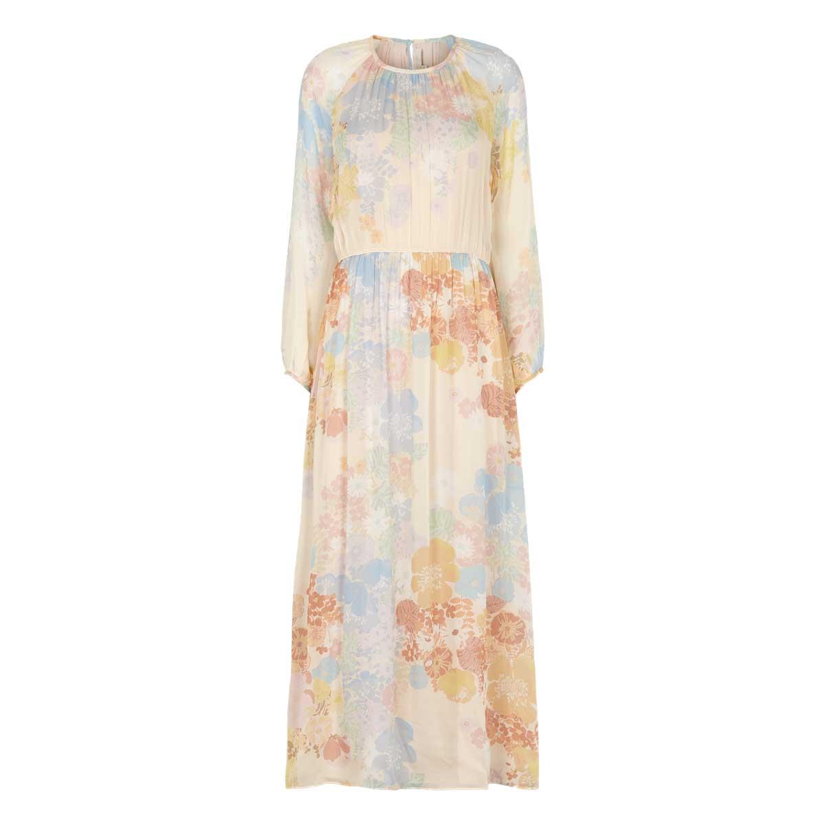 Vanessa Bruno, Lang kjole mult Blomster Multifarvet
